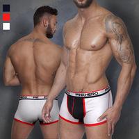 3pcs mens underwear boxer shorts wholesale panties XL plus-size sleepwear pants pentis shorter pinkhero brand cheap sexy cotton