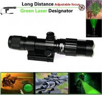 NITELION X7 Long Distance Adjustable focus 30mW Green Laser flashlight Hunting Designator (Operating Temperature:0~45 Celsius)