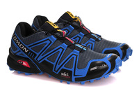 New arrival  Salomon Speed Cross CS Shoes,Athletic Shoes, Sports Running Shoes Walking  hiking Shoes  40-46  blue Free shipping