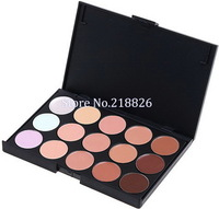 Hot Sale, 15 Colors Professionl Cosmetics  Camouflage Facial Set Concealer Neutral Palette. Free & Drop Shipping
