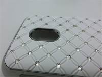 High Quality Bline Star Diomand Rhinestone Hard Back PC Case Cover For Nokia Lumia 620 N620 Free Shipping 1pcs