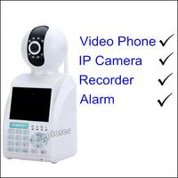 Digital P2P IP phone Cameras H.264 with latest design IP camera with speaker KAP-C11W