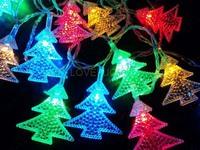 10M 50 Christmas trees RGB LED String Lights Lighting Waterproof 110V/220V US/EU/AU/UK Plug CHRISTMAS,WEDDING,BEDROOM