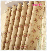 Positive Brand house Curtain Eco-friendly b0719 print curtain window curtain dodechedron sun-shading thickening