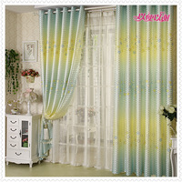 Positive Brand house Curtain B0709 print curtain cloth curtain curtain customize fabric