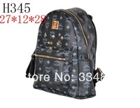 New arrival Bags 2013 personality rivet patchwork shoulder bags handbag women's handbag women bag with free shipping