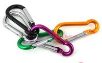 [Hot]:  3 X Aluminium Carabiner Camping Hiking Hook Keychain S Save up to 50%