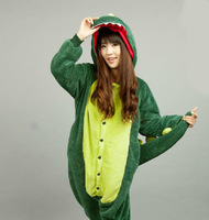 Autumn and winter cartoon dinosaur style, magic sleepwear ,coral fleece with long sleeve