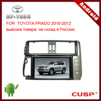 Android CP-T035 car gps navigation with dvd,bluetooth,gps,ipod,RDS,WIFI,3G,SD,map(option) for TOYOTA PRADO 2010-