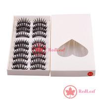 [Hot]:  10 Pairs Thick Long False Fake Eyelash Eye Lash Makeup #H3 Save up to 50%