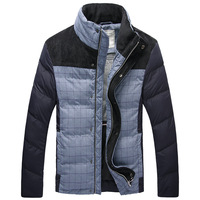 2013 winter wadded jacket casual design short wadded jacket tidal current male cotton-padded jacket