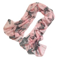 Women spring and autumn female silk scarf female big size long paragraph of silk velvet chiffon scarf female cape winter SC0404