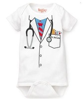 2014 BOY's doctor baby hot rompers costume -DZY138A