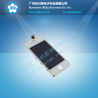 1PCS LCD Touch Screen Glass Display Assembly for iPhone 4G WHITE