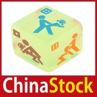 [China Stock] Amy2_Sex Funny Adult Love Humour Gambling Sexy Romance Erotic Craps Dice Pipe Toy 06 wholesale