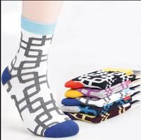 [10 lots get 5% off ] Free shipping Man Dress Socks Men's fantasy plaid socks thin golf Socks for fashion Men black 20pairs/lot