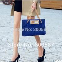 2014 New Fashion women Lady Horse Hair Chain Handbag Shoulder Bag Messenger Bag/3 color