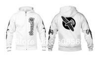 Hot!!!-- MMA  Hayabusa Falcon Technical Hoodies --White