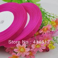 "100Y 3/8"" Sheer Organza Ribbon Craft/Wedding/sewing Fushia  RA132"