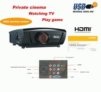 Promotion !!! Full HDMI video projector DG-757 with 1280*768 pixels .2800 lumens