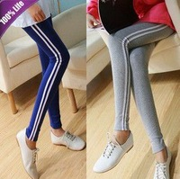 Free Shipping Casual Sports Full Length Leggings Women's Slim Pencil Pants W3142