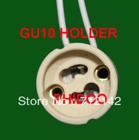 free  shipping ,20pcs/lot,GU10 Base,Ceramic GU10 socket,GU10 Holder,Bulb adaptor