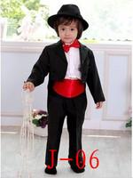 Free Shipping High-quatity kids blazer boys wedding suit  formal dress outerwear clothing set boys tuxedo performance wear