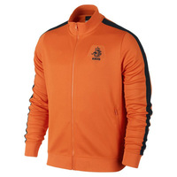 Excellent Men Sport Coat Football & Soccer Jacket sportswear Team Netherlands Players Coats Tracksuit Orange S/M/L/XL A088