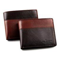 New 2014 Brand Color Patchwork Printed Bifold Wallets For Men/Fashion 90% Leather Men Wallets/Designer Men Purse
