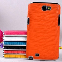 snake leather skin cover 10PCS/1lot wholesale luxury case for samsung n7100 galaxy note2 case cover accept mix-color order