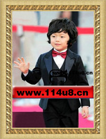 Free Shipping kids blazers jackets wedding suit formal dress performance costume coats and jackets for children clothing set