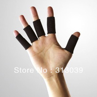 YY  10PCS New Stretch Finger Elastic Support Sleeve Protector Sport Basketball  IA527
