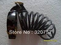 Cool!M-size Male bronze-coloured Steel Cock Cage Chastity Device