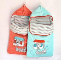 Free Shipping baby sleeping bag export European Indoor velvet baby sleeping newborn baby sleeping bag sleeping bags wholesale