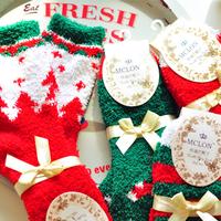 Christmas coral fleece thermal sleeping socks floor socks ( for sale)