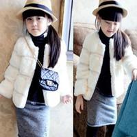 2013 children's clothing girls fashion faux fur princess coat hot-selling gentlewomen winter jackt