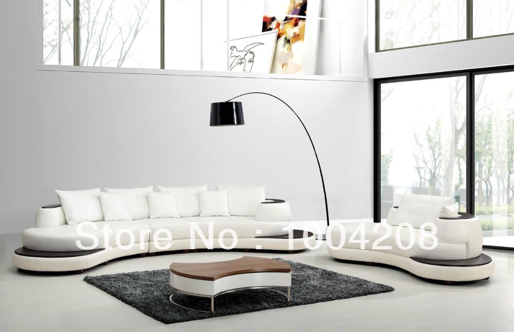 Modern corner sofa top Genuine leather sofa living room furniture NS612(China (Mainland))