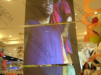Free Shipping Transparent Rear Projector film that making excellent color reappearance wholesale and retail