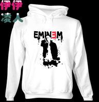 I love eminem free shipping eminem hoodies sweatshirt 2013 winter  hiphop  loose casual  with a hood sweatshirt pullover