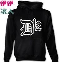 Free shipping eminem hoodies sweatshirt New arrival d12 sweatshirt   fashionable casual lovers loose sweatshirt with a hood