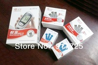 Rapid detection of blood glucose meter YUYUE+ blood sampling pen +100 test paper + 100 blood collecting needles