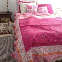 100% cotton quilting duvet cover four piece set bed cover 225*240cm+summer quilt 230*250cm+pillow case 50*70cm