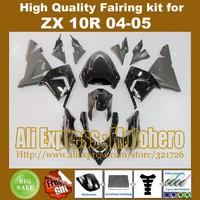 Glossy/matte black Fairing kit for Kawasaki ninja ZX-10R 2004 2005 04 05 ZX10R 2004-2005 zx 10r 04-05 fairings +7gifts x788s
