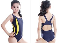 12-18 age professional girls sport swimwear sexy ladies backless spa swimsuit female kids one-piece swimming clothing wholesale