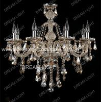 crystal chandelier candle lamp/ k9 crystal 8 lighting crystal chandelier lighting lamp/ free shipping