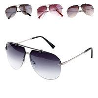 Exquisite workmanship fashion sunglasses 2014 Metal  Frame gafas Four colors available gafas de sol  Free Shipping 8517