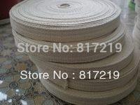 Width 1.5cm, cotton flat lamp wick, Alcohol, kerosene, oil lantern, 10 meters of each roll, 100% cotton