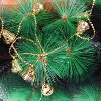 Christmas christmas tree decoration christmas bell christmas gift gold and silver