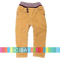 Fashion Baby Winter Pants Boy Elasticized Waist Trousers,Free Shipping K4049