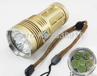 Super Bright 8500 Lumens SKYRAY KING 6x CREE XML XM-L T6 LED Flashlight Torch Lamp Light 3 Mode  Lantern